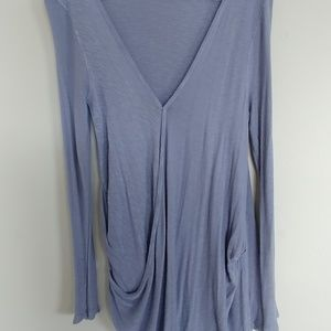 Free People Draped Pullover